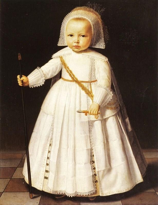 Renaissance Portrait Young Girl