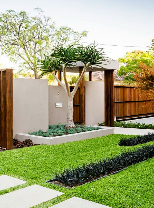 C mo crear un jard n minimalista guia de jardin for Jardines pequenos para escuelas
