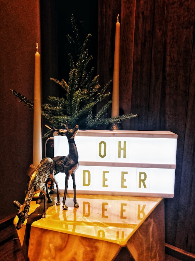 Oh Deer Sign
