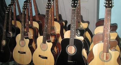 Khắc phục một số hư hỏng của đàn Guitar Acoustic