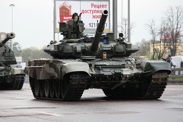 Russian T-90S main battle tank pic