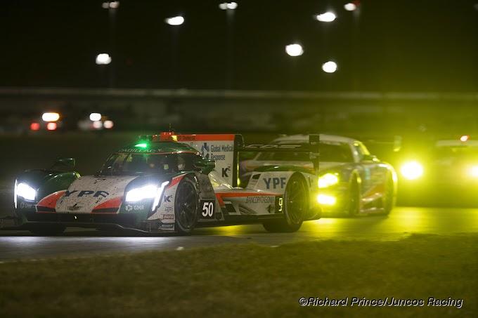 Juncos Racing peleó contra la adversidad y completó sus primeras Rolex 24 Horas de Daytona