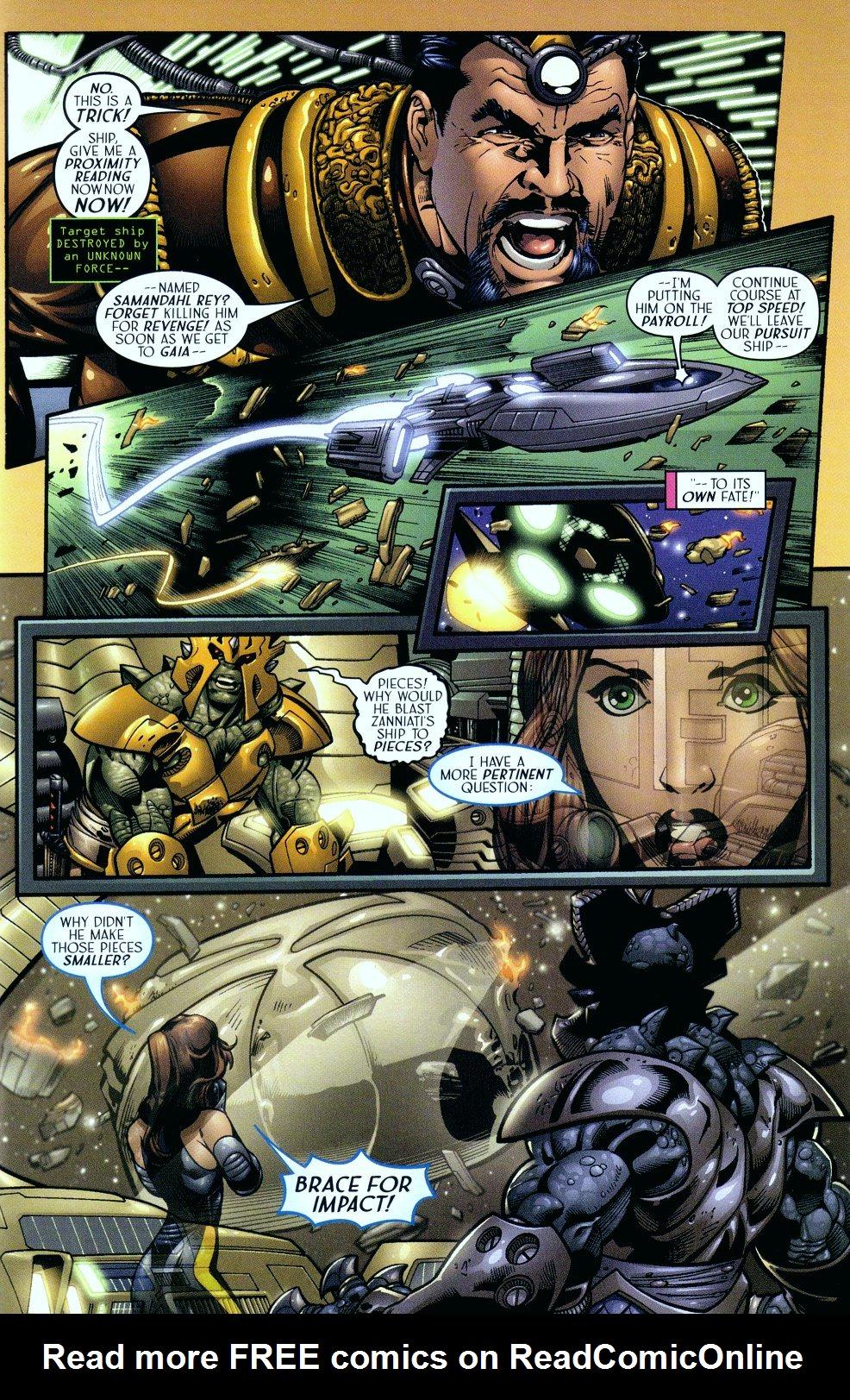 Read online Sigil (2000) comic -  Issue #14 - 3