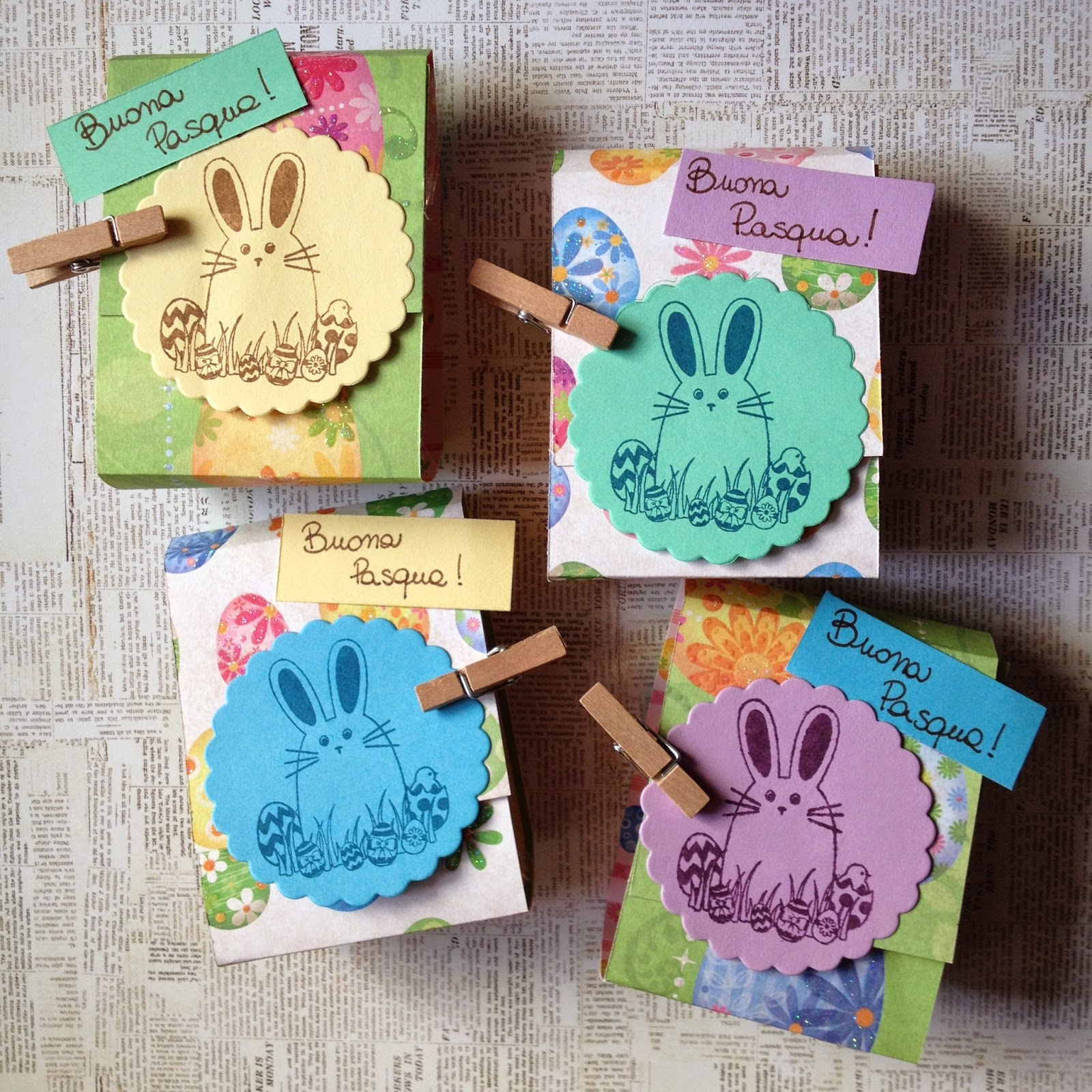 scrap idea per Pasqua