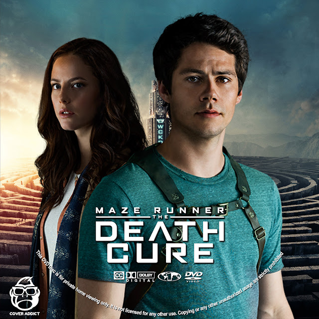 Maze Runner: The Death Cure DVD Label