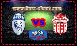 مشاهدة مباراة حسنية اكادير وسريع وادي زم بث مباشر 29-04-2019 الدوري المغربي