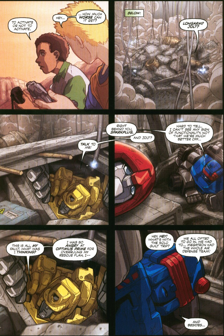Read online Transformers Armada comic -  Issue #7 - 7
