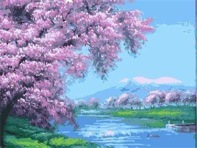 Tranh son dau so hoa o Thach Ban