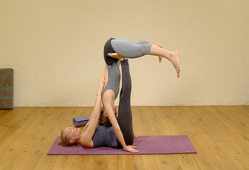 acro yoga posses asanas