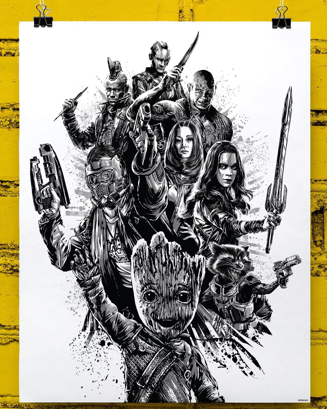Free Comic Book Day San Diego: The Blot Says...: SDCC 2017 Exclusive Guardians Of The