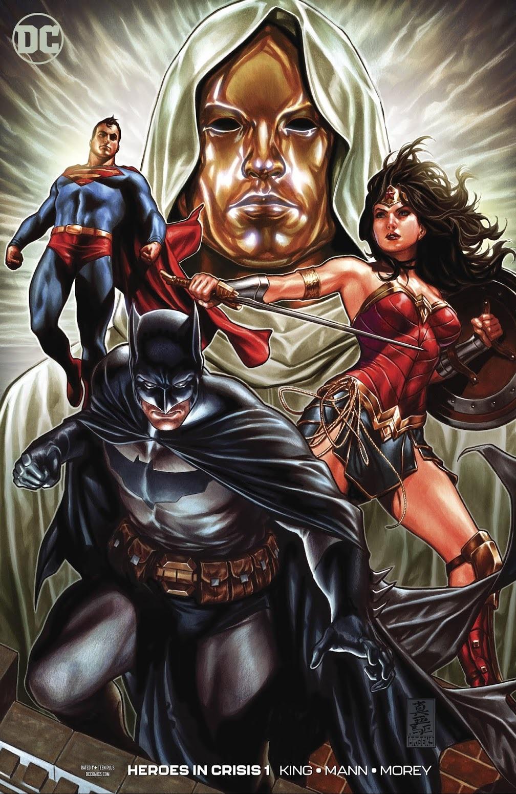 COMIC BOOK FAN AND LOVER: HÉROES EN CRISIS # 1 – DC COMICS