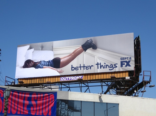 Better Things series premiere billboard
