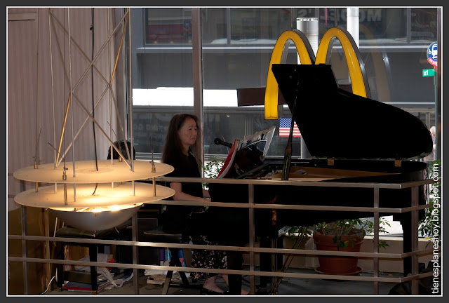 McDonalds piano Nueva York