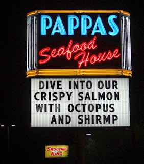 Pappas Seafood House - Pitch for Salmon, Octopus, and Shrimp
