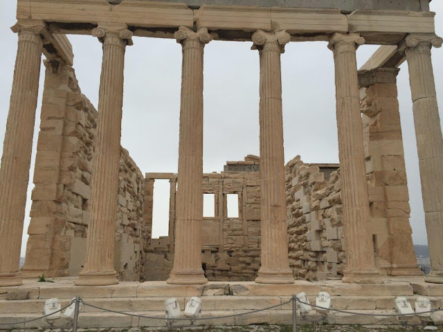 AN ARCHEOLOGICAL SITE OF PARTHENON