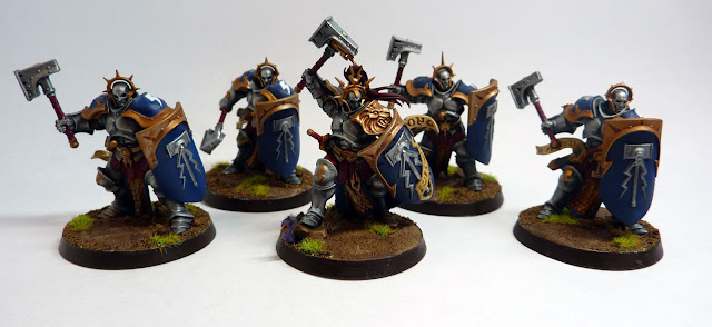 Stormcast Eternal Liberators, Hallowed Knights stormhost, for Warhammer Age of Sigmar.