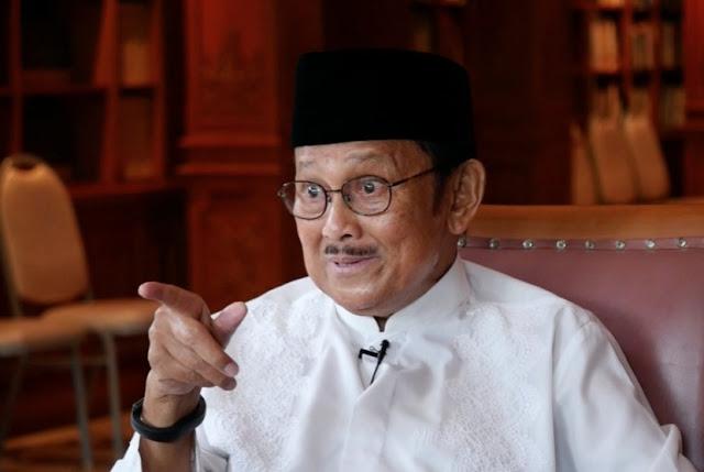 Ucapan Selamat Ultah untuk Presiden ke 3 Habibie Jadi Trending Topic Netizen
