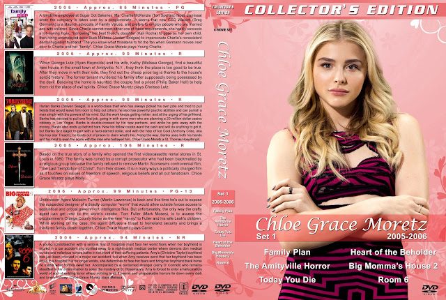 Chloe Grace Moretz Collection Set 1 DVD Cover