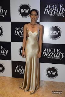 Sarah Jane at Vogue Beauty Awards 2016