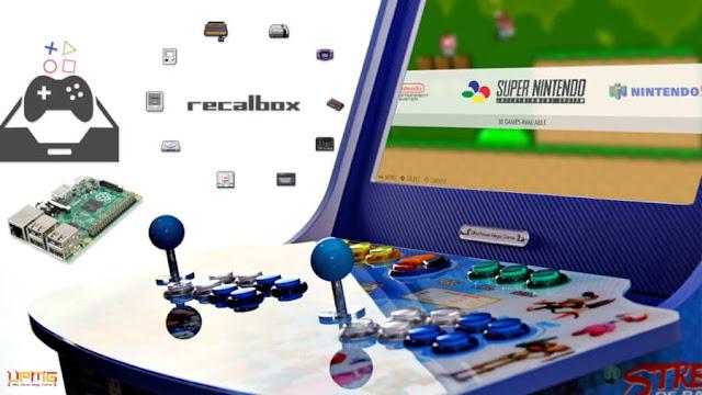 Recalbox Arcade Cabinet