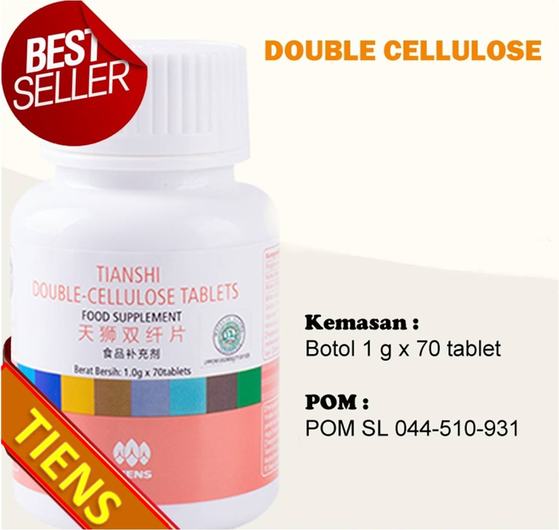 Obat Ambeien Makassar Tiens Double Cellulose Tablets Wasir