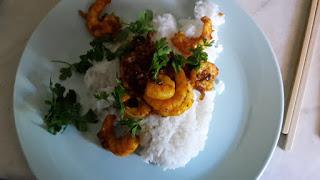 Leberkassemmel und mehr: Shrimp-Curry