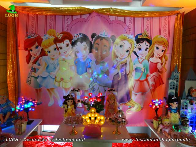 Aniversário infantil Princesas Baby - Decoração provençal