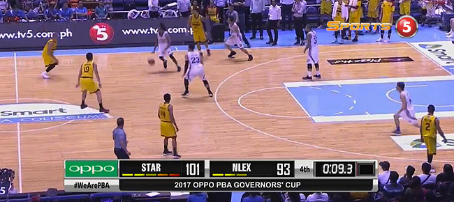 Star def. NLEX, 101-93 (REPLAY VIDEO) September 24