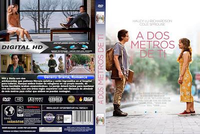 A DOS METROS DE TI - FIVE FEET APART - 2019 [COVER DVD]