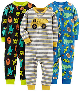 8abe952ad7c0 Simple Joys by Carter s Baby Boys  Toddler 3-Pack Snug Fit Footless ...