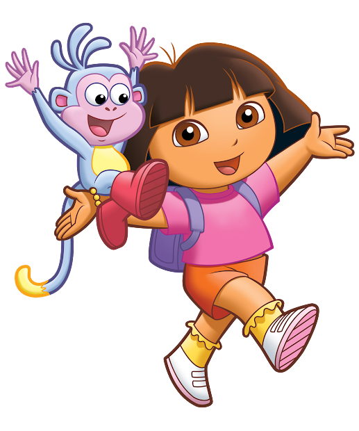 Cartoon Characters Dora Explorer