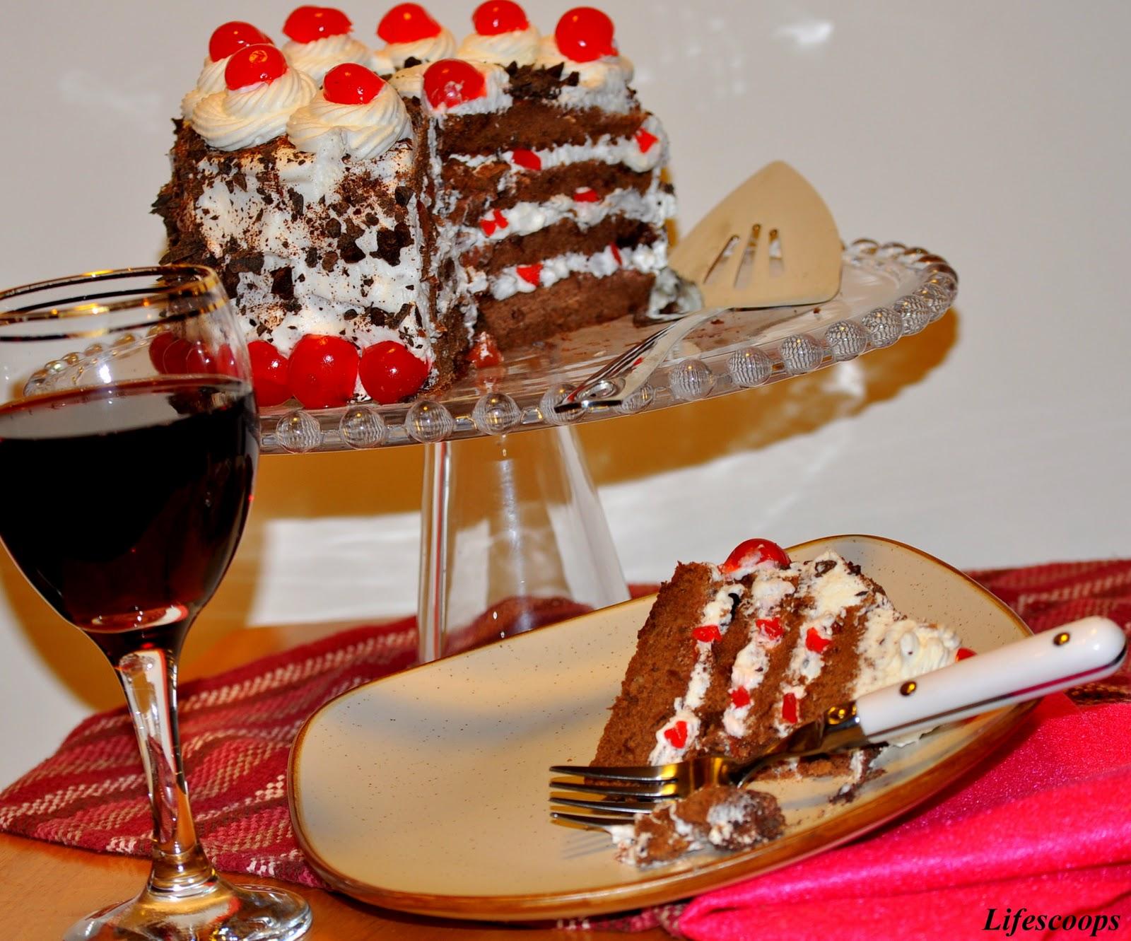 Black Cake Frosting Recipe