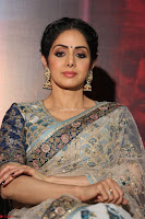 Sri Devi in designer saree stunning beauty at the launch of MOM movie Trailer~  Exclusive 074.JPG