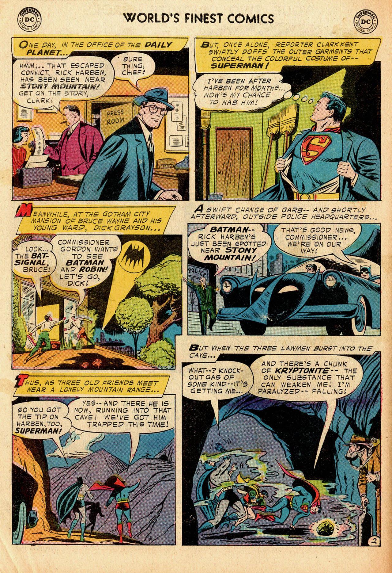 Read online World's Finest Comics comic -  Issue #91 - 4