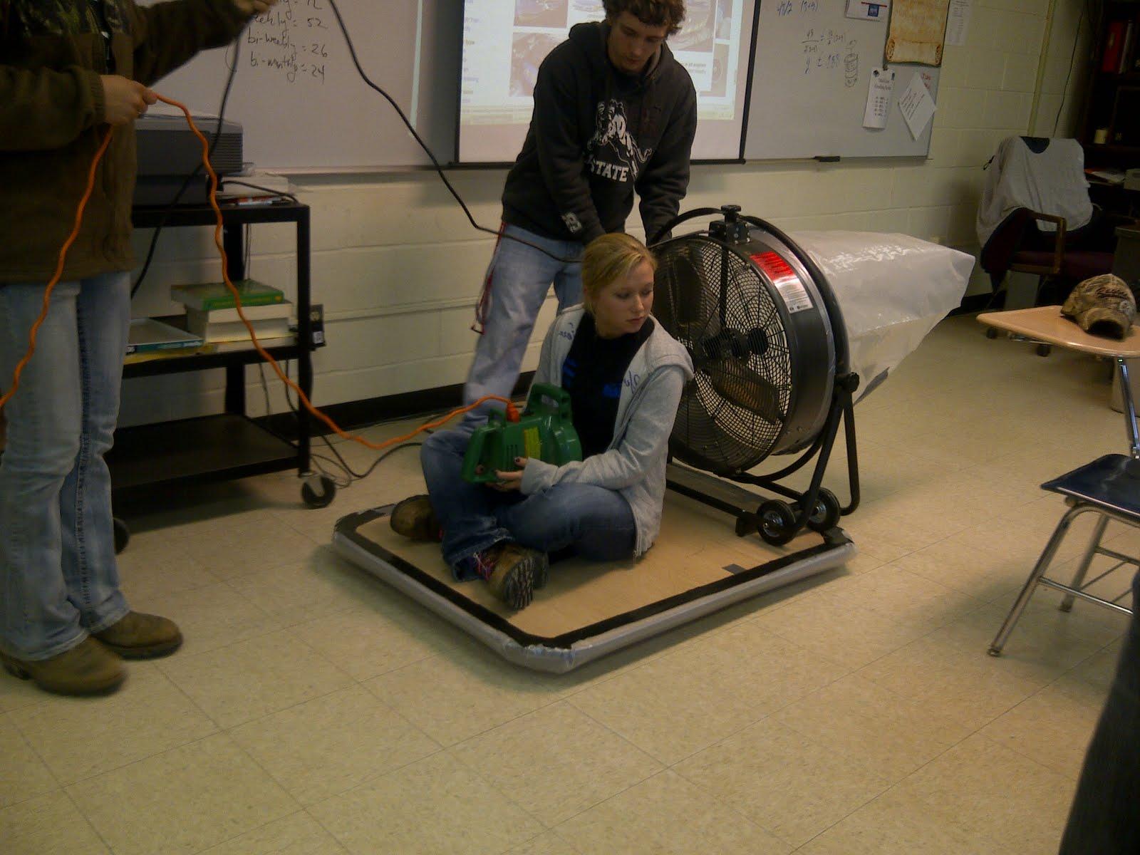 Homemade Hovercraft
