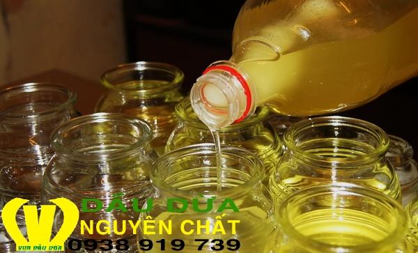 Dầu dừa đạt chuẩn xuất khẩu - Coconut oil export standard