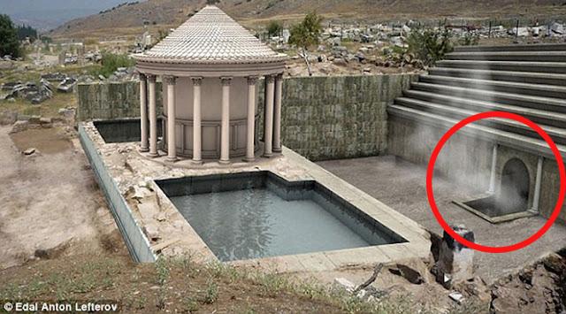 Mengerikan!! Ini Dia 6 Foto Gerbang Neraka di Turki Yang Ditemukan Oleh Arkeolog