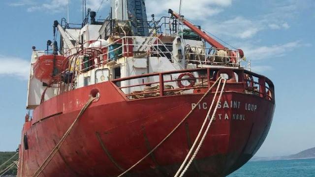 Γ. Μανιάτης: Αυτοδεσμεύτηκαν για την απομάκρυνση του  δεξαμενόπλοιου PIC SAINT LOUP από το λιμάνι της Κοιλάδας
