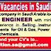 Career Vacancies In KSA