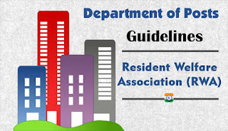 Guidelines of Resident Welfare Association - Department of posts