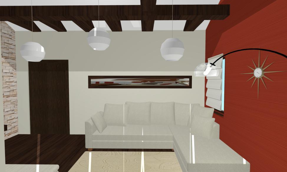 Designer interior Constanta - Design Interior mansarda casa moderna Constanta