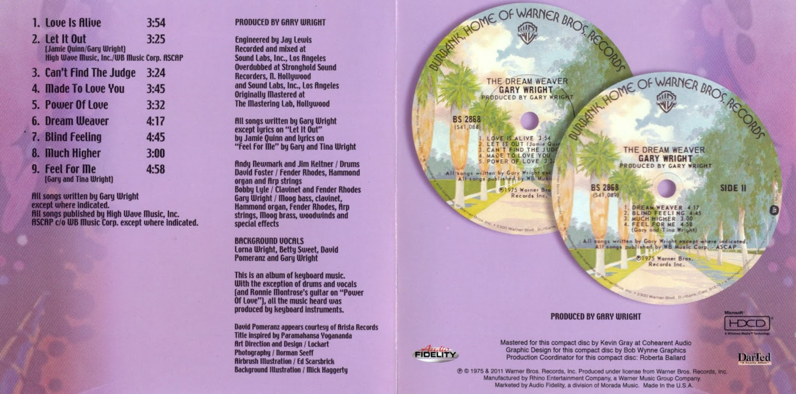 Rockronologia 1975 The Dream Weaver Gary Wright