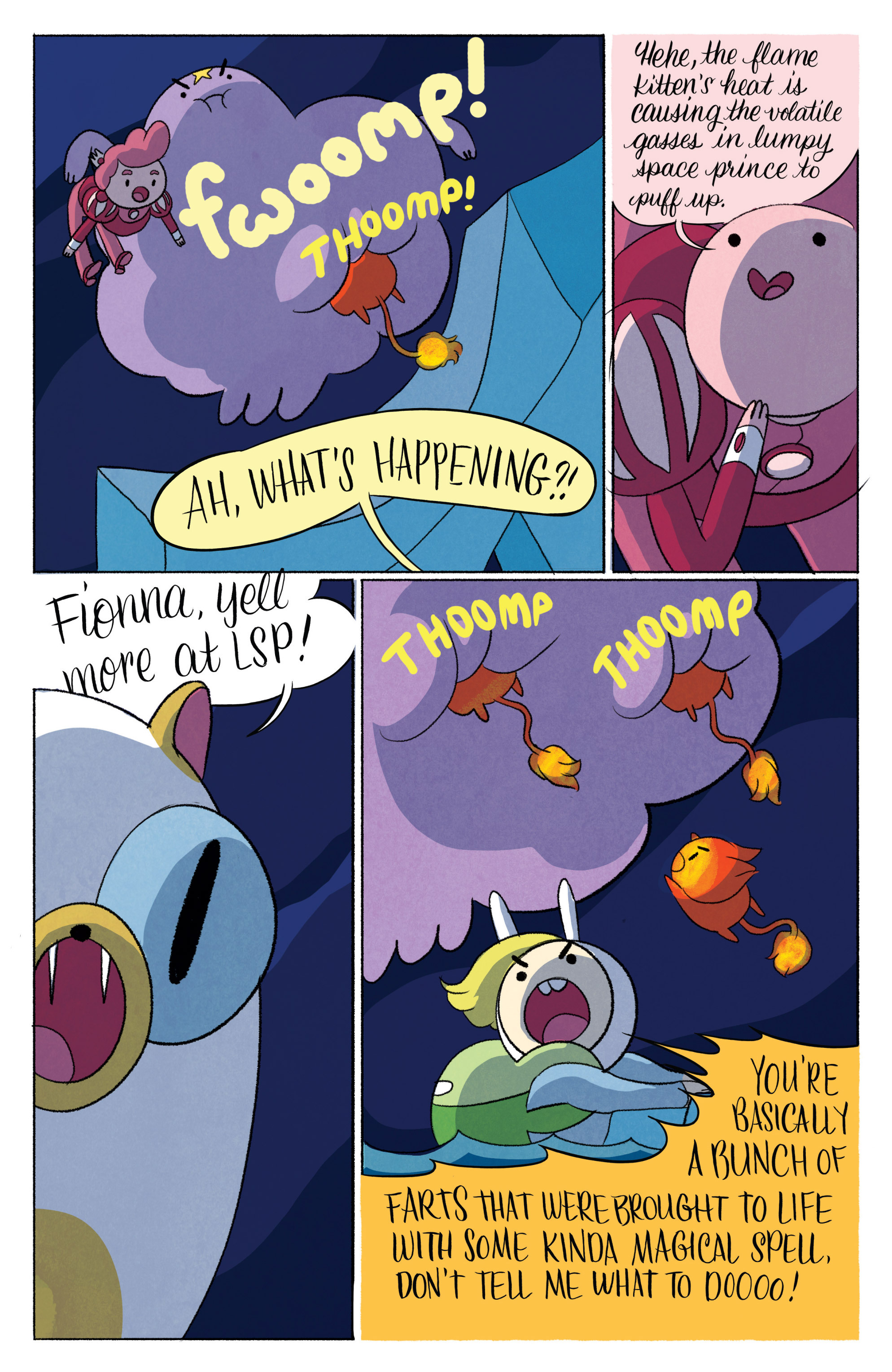 Read online Adventure Time with Fionna & Cake comic -  Issue #6 - 24