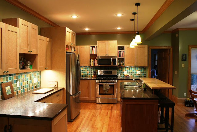 Beautiful Maple Kitchen Cabinets Design Ideas