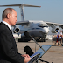 Why did Putin fly to Syria, Egypt, and Turkey in a military transport?