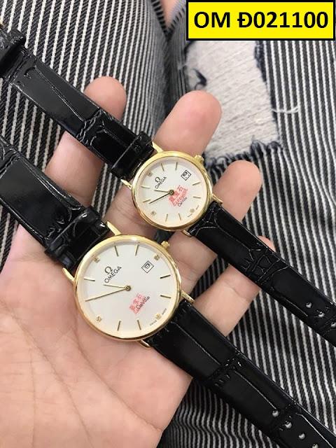 Đồng hồ dây da OM Đ021100