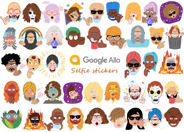 جديد الآن إنشاء ملصقات الصور الشخصية مع التطبيق جوجل ألو