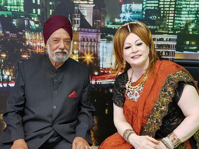Deedar Singh Pardesi Punjabi Folk Singer With His Daughter  HD Wallpaper Photo Images