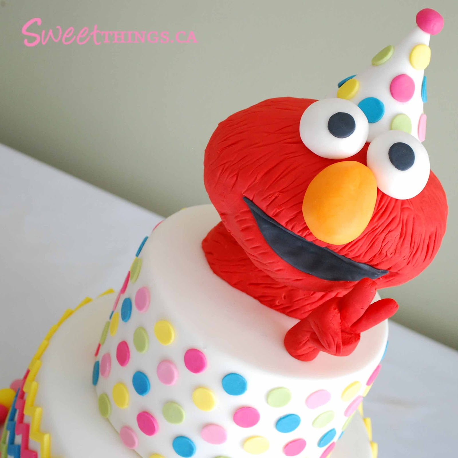 Sweetthings 2nd Birthday Cake Elmo Cake