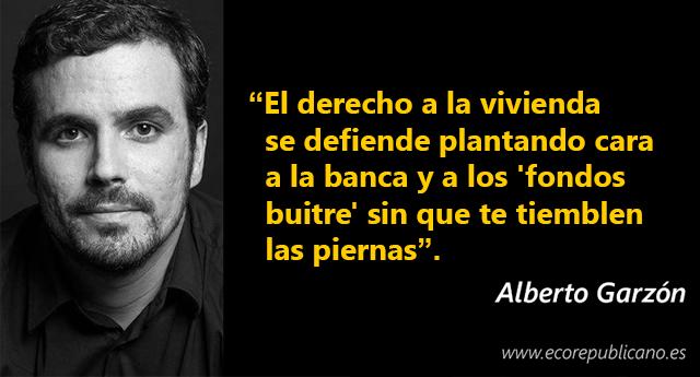 """Alberto Garzón alerta del """"riesgo"""" de que Sánchez pacte con Rivera"""